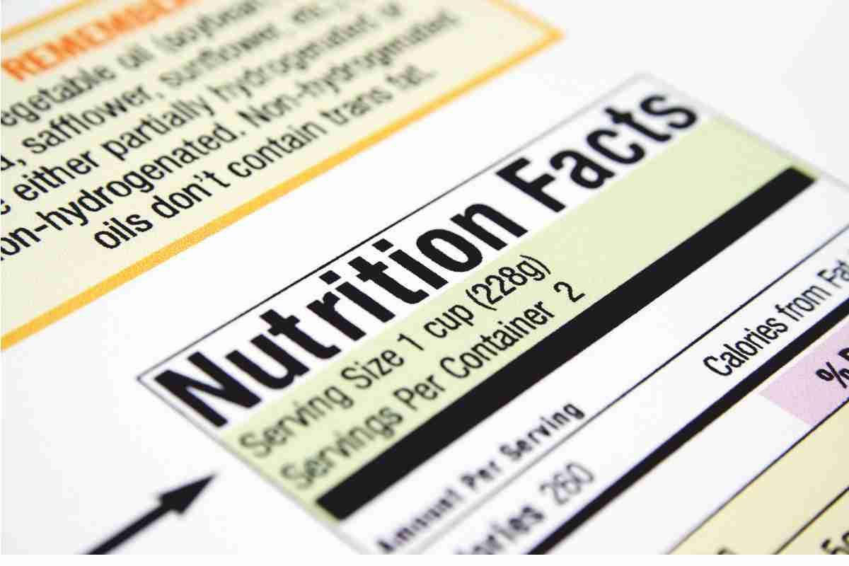 información etiqueta alimentos